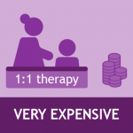 1-1 therapy expensive